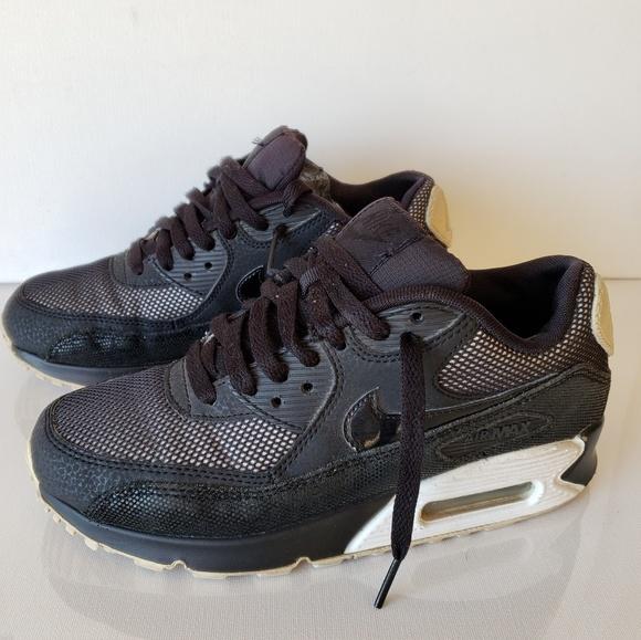 the latest 2718d a61c4 Nike Air Max 90 Premium Black Size #6 #Airmax